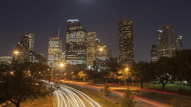 Skyline of the city of Houston, Houston Interpreter Services